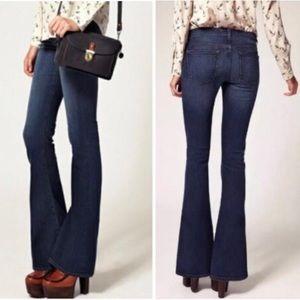 J Brand | Martini Mayflower Flare Low Waist Jeans